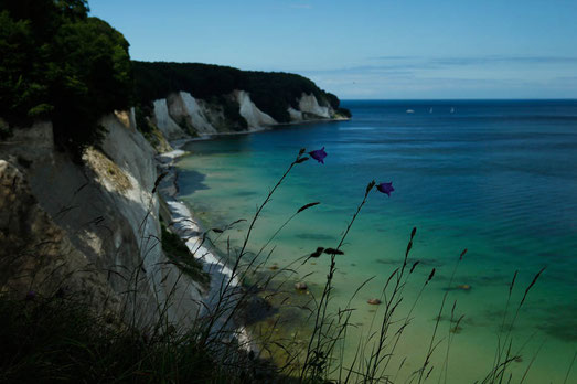 German Chalk Cliffs, places to see before you die, German seaside