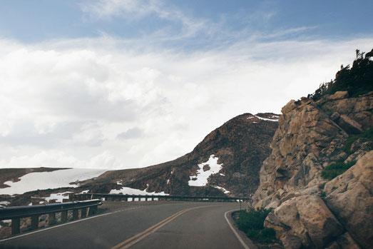 Beartooth Highway, Schnee, Montana