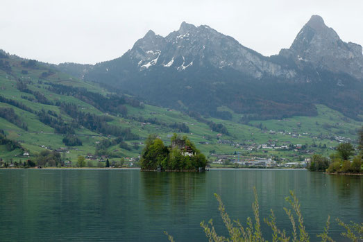 Lucerne, lakes, Switzerland, magic land