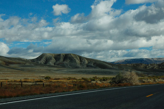 Way from Cody to Bighorn Mountains