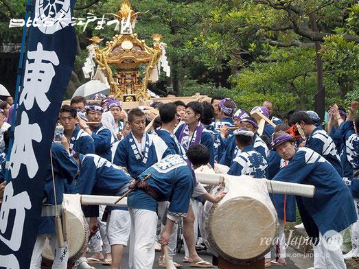 日比谷大江戸まつり, 八重垣神社祇園祭, 特別参加, 東本町区, 2018年6月10日
