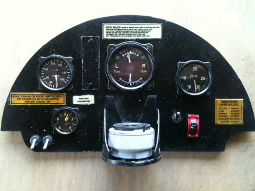 instrument panel from Inzpan kit