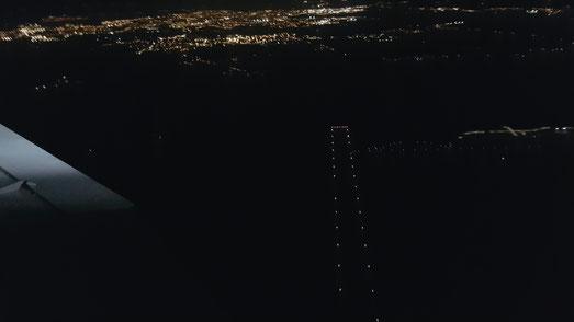 Aéroport Vannes de nuit