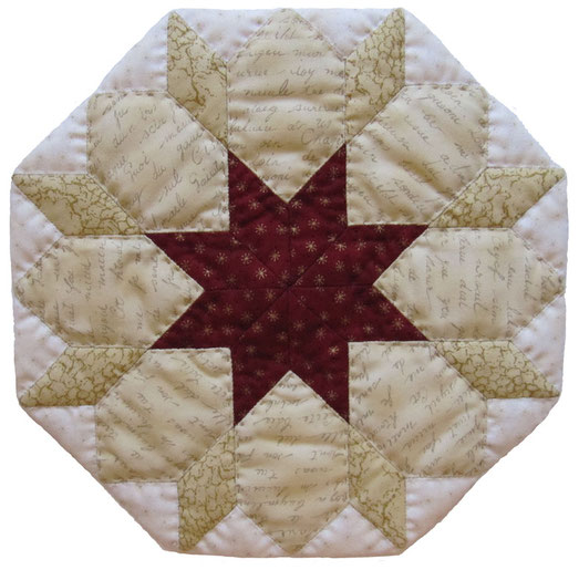 English Paper Piecing Stern von Bethlehem Star of Bethlehem