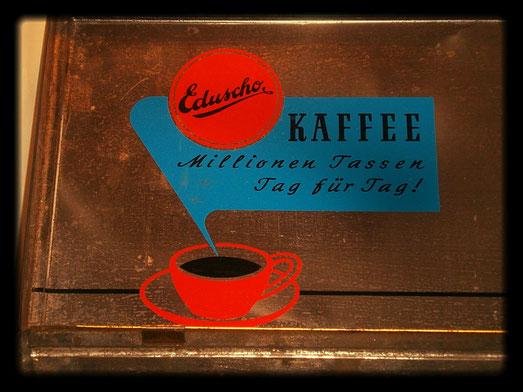 Eduscho Kaffeedose um 1960