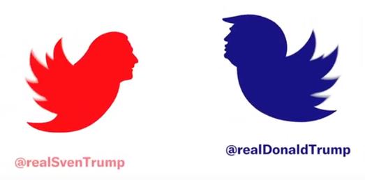 Ein ungleiches Duell: Sven gegen Donald Trump. Videoausschnitt myclimate