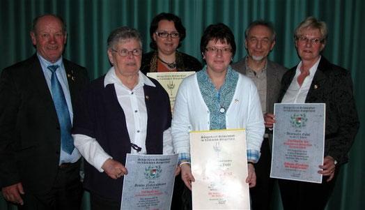 Ehrungen beim Sängerkreistag in Bad Bocklet - 230314