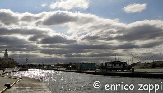 Cesenatico : il porto canale.