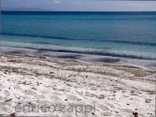 Spiaggia della Salina, a pochi chilometri da Stintino