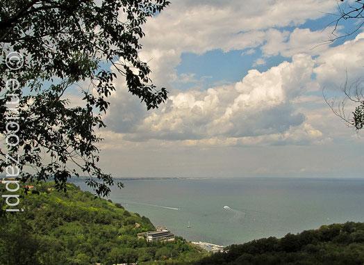 Vallugola vista dall'alto
