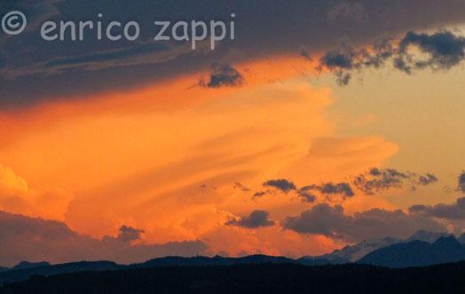 Tramonto Alpino visto da Castelrotto