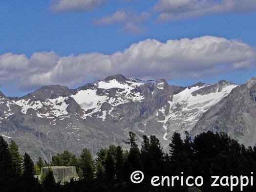 I monti del Parco Naturale Vedrette di Ries-Aurina