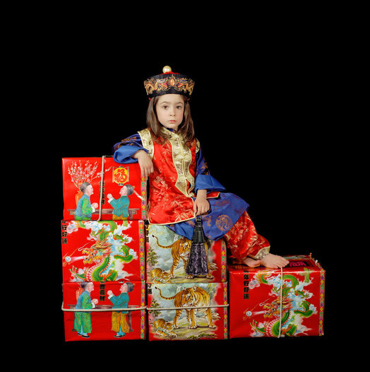 Olympia as Lewis Carroll's Xie Kitchin as Chinaman on tea boxes (on duty) 2002