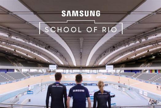 サムスンが仕掛ける「School of Rio」キャンペーン