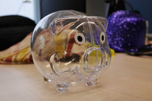 Ein transparentes Sparplan ETF Sparschwein