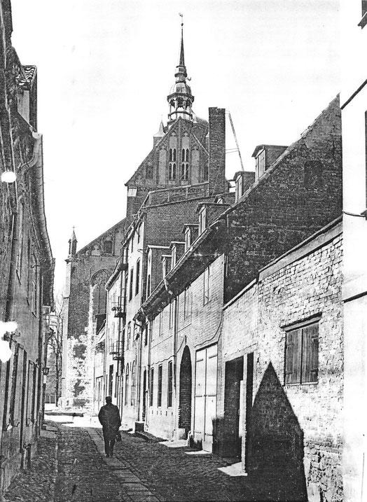 Papenstraße 25 in den 1960er Jahren