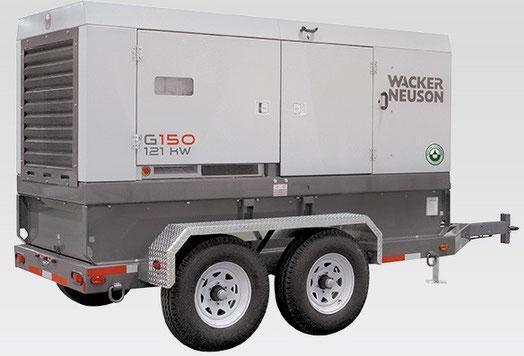 Generador Wacker G150S