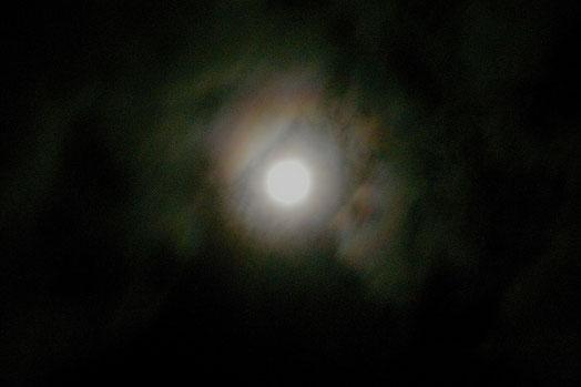 2012年9月30日中秋の月