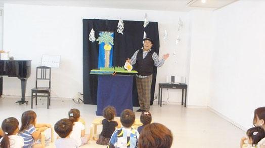 夏祭り ポップシアター人形劇
