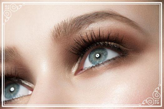 Augenbrauen zupfen, Augenbrauen färben, Wimpern färben, Kosmetikstudio Münchenbuchsee, Kosmetikerin