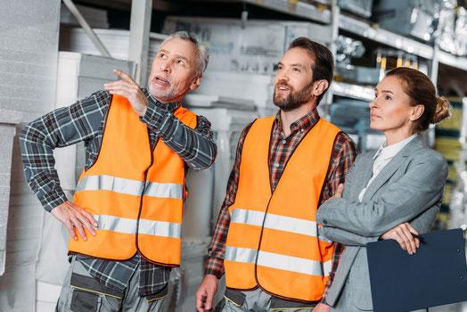 Regale Reparatur - Lagerconsulting Service - Wartung von Regalanlagen, kaputtes Regal
