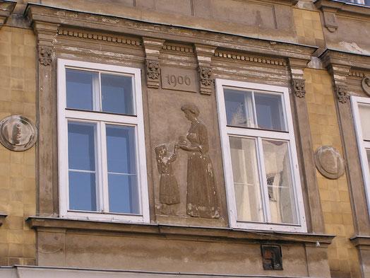 Wohnhaus im 15. Wiener Gemeindebezirk, Herklotzgasse 21
