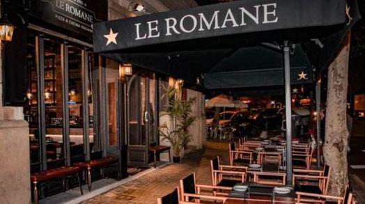 Ресторан Le Romane, пицца и паста в римском стиле в Барселоне