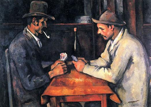 Самые известные картины в мире - Игроки в карты (Поль Сезанн)