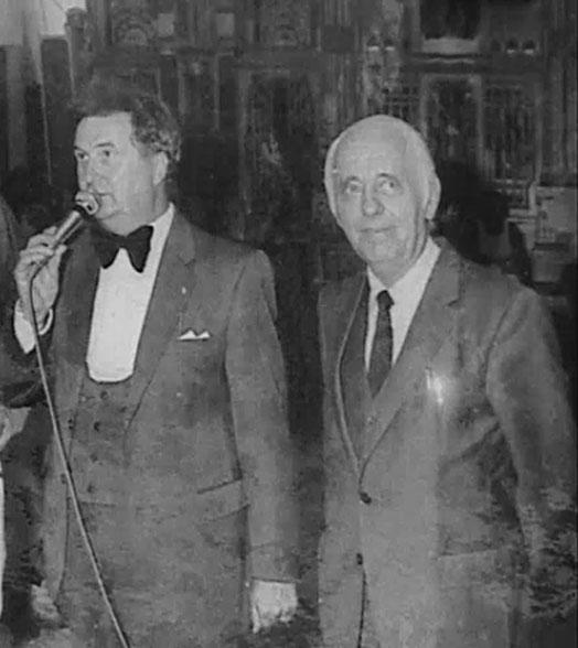 Tonny Leerink en Henk Bemboom