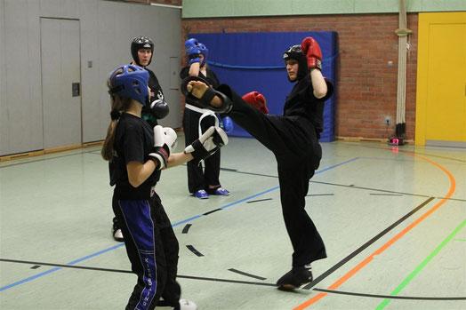 Kampfsport Kickboxen Pointfighting München
