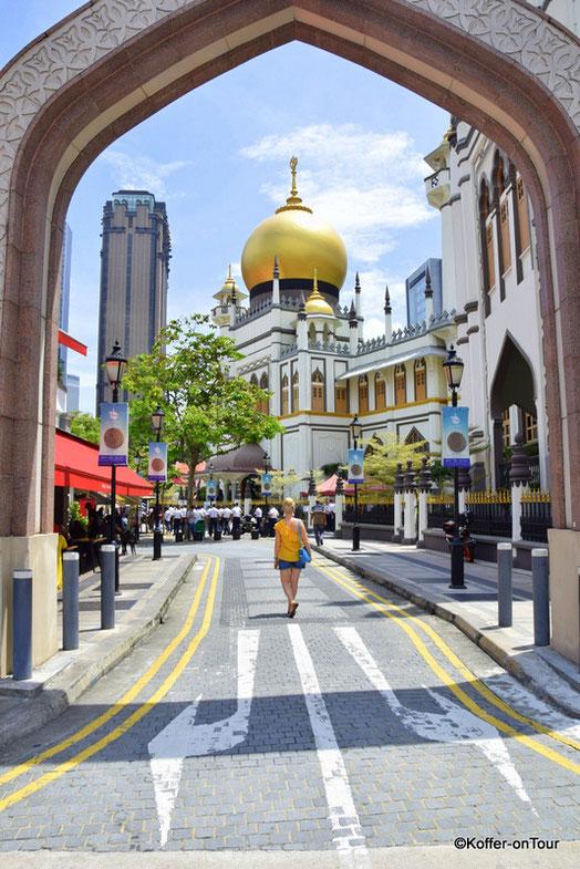 Arab Street, Moschee, Singapur