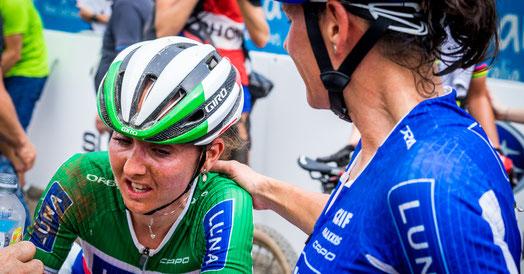"""Trost für Eva Lechner: """"Es geht wieder aufwärts"""" ©Luna-Team/Matt DeLorme"""