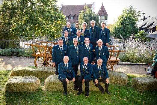 Bild der aktiven Ehrenmitglieder 2020