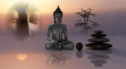 Buddha, Achtsamkeit, Bewusstsein