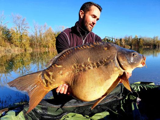 record carpe 33kg Iktus