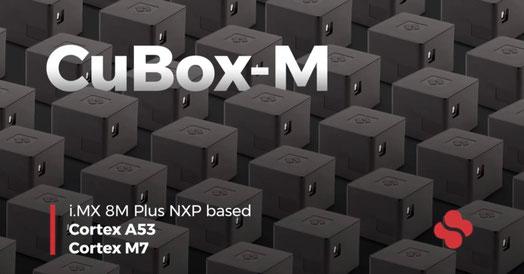 i.MX 8M Plusプロセッサのクアッドコア搭載したCuBox-M