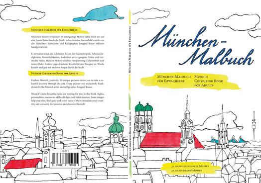Das München Malbuch kaufen - Alternativ Unterwegs in München