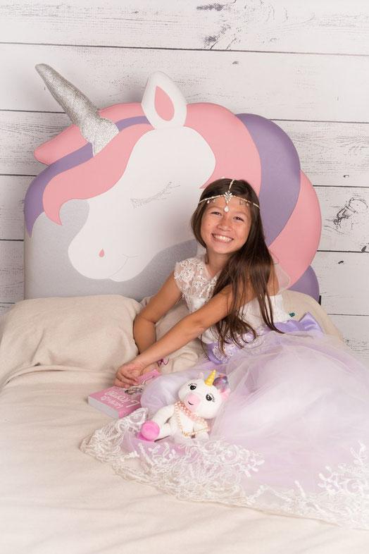 tête de lit licorne déco chambre enfant tête de lit personnalisée sur mesure tête de lit enfant licorne