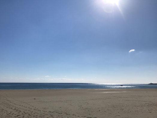 高知県黒潮町の海