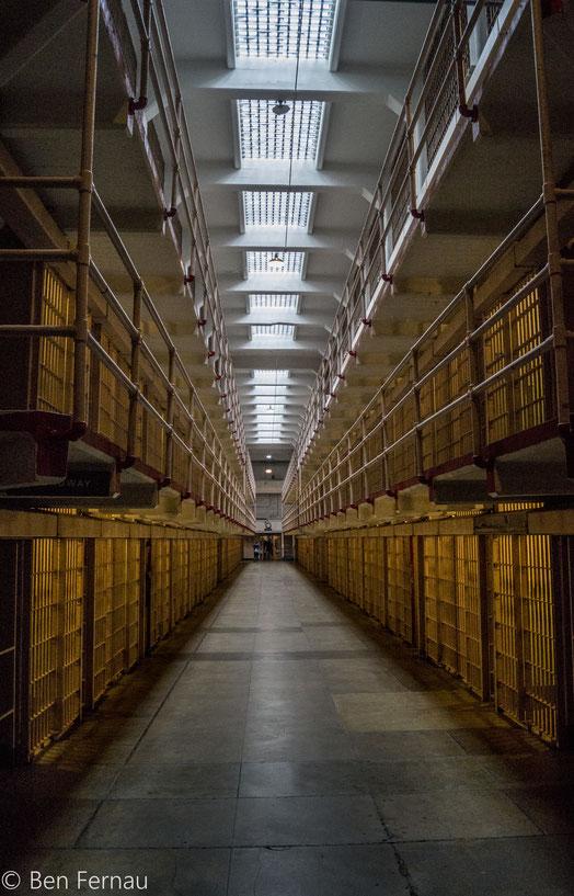 """Der """"Broadway"""" in Alcatraz (heißt wirklich so)... also Broadway und Alcatraz obviously"""