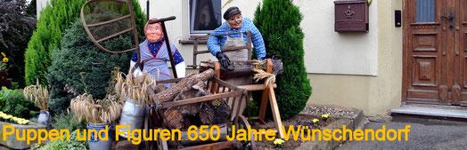 Bild: Wünschendorf Erzgebirge Teichler Puppen 650 Jahre