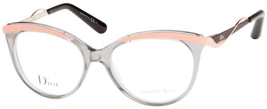 Occhiali da vista Christian Dior donna. Modello: 3279. Colore: 8LE GRY CRL grigio e rosa. Calibro 51-16. Prezzo: € 286,00. Spedizione gratis. Materiale: plastica. Forma: rotondo/ovale.