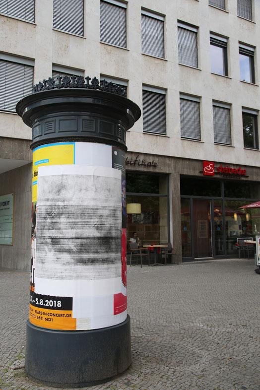 o.T. (Rausgang), 2017, 100 cm x 125 cm, Radierung auf Büttenpapier