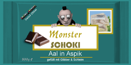 Monster Schoki Aal in Aspik