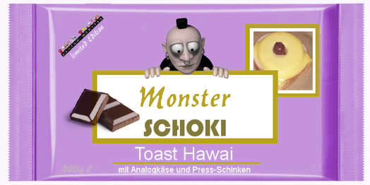 Monster Schoki Toast Hawai