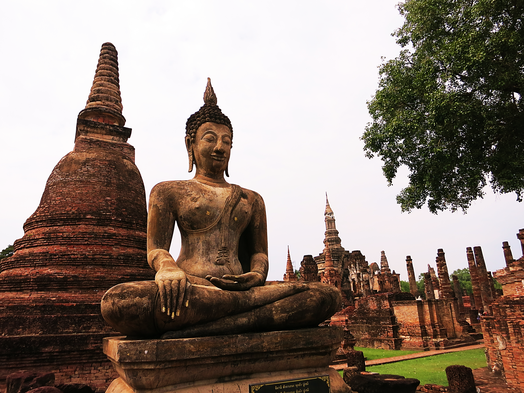 Geschichtspartk Sukhothai (UNESCO Weltkulturerbe)