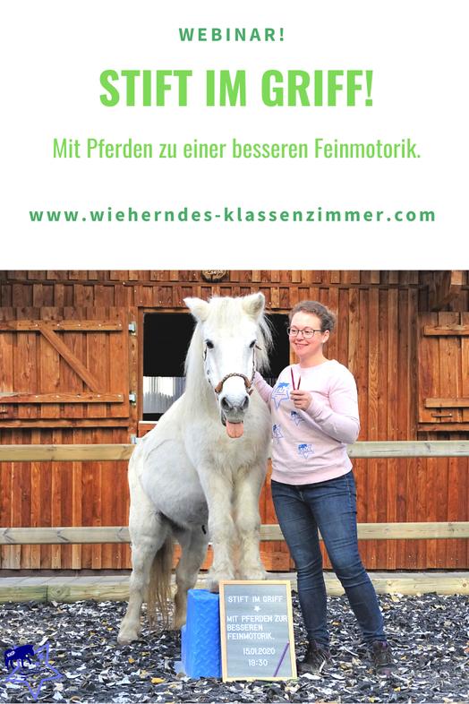 Stift im Griff: Mit Pferden zu einer besseren Feinmotorik.