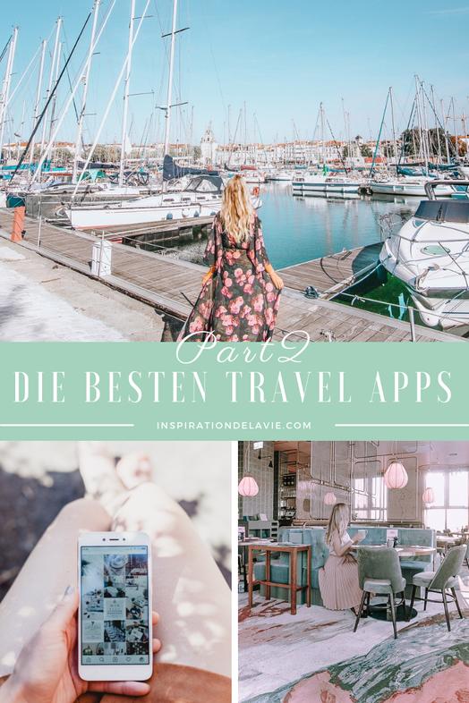 Nutze Reise-Apps, die deine Trips und Reisen noch einfacher machen! Donwloade Dir aktuelle Android und iPOS Apps mit Reiseinformationen, Tipps zum Essen und Kommunikations-Apps für unterwegs. Neben Uber, Tripadvisor und Airbnb gibt es zahlreiche Apps, die