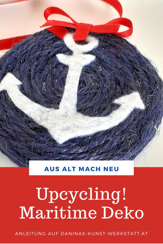 Aus Alt mach Neu: Selbstgemachte Maritime Deko aus Twist Off Deckel by Daninas-Kunst-Werkstatt.at