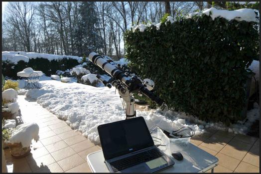 Observation de Vénus le 8 février 2018